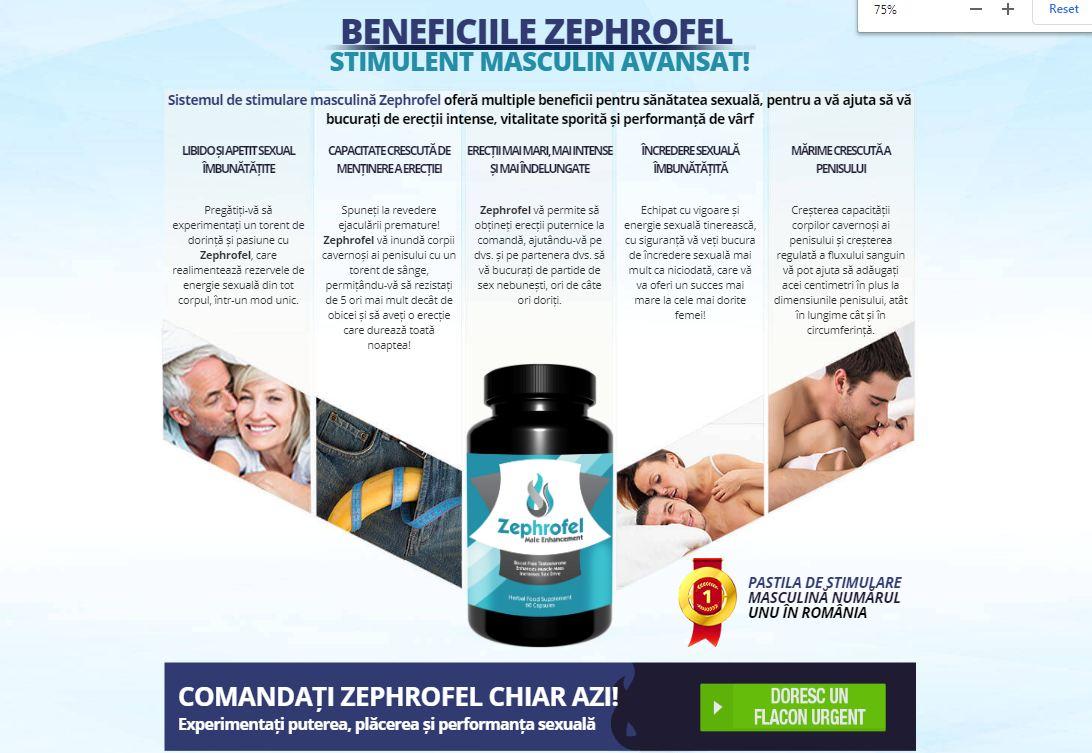 zephrofel romania